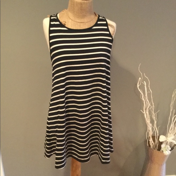 325bf054d4 Mossimo stripe swing dress sundress beach short. NWT. Mossimo Supply Co.